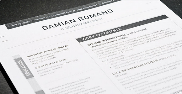 High Quality Get The Resume Template