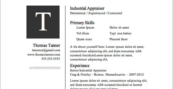 resume template microsoft word 2010 2007 get download free
