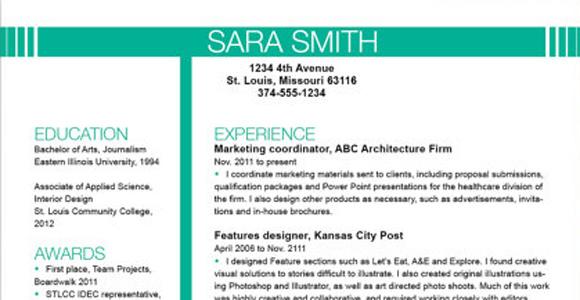 Etsy Resume Resume Template  Resume Templates Creative