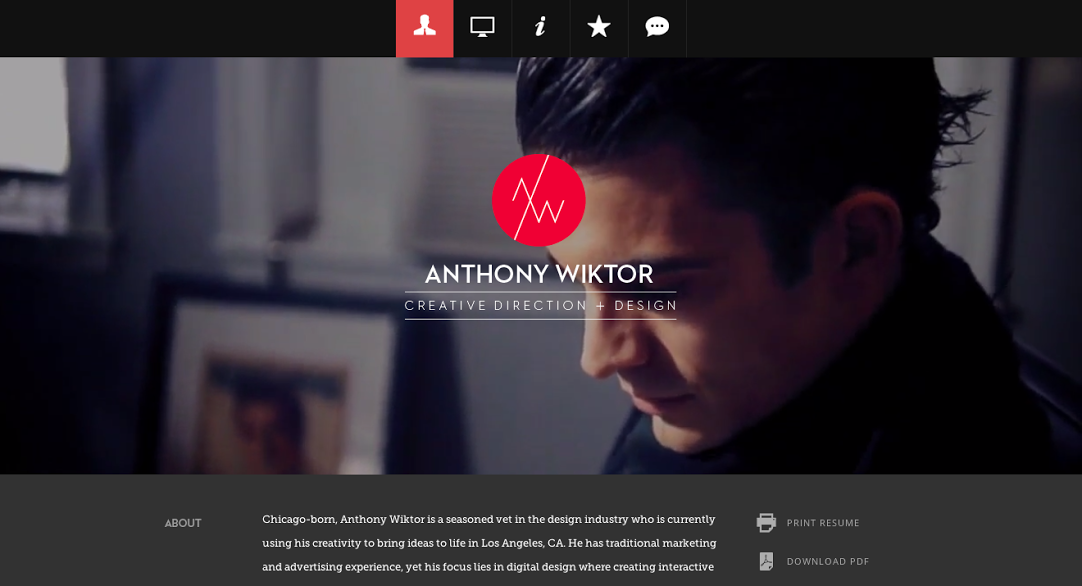 14 anthony wiktor - Best Sample Resumes