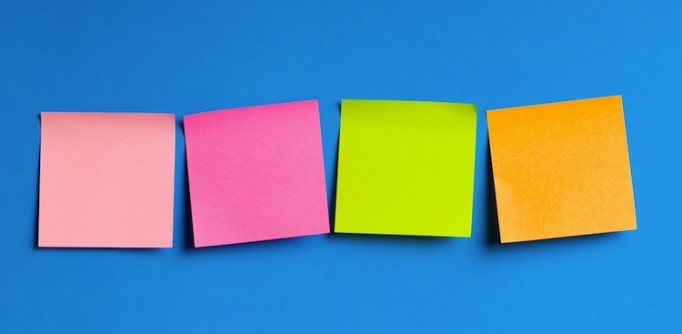 How 2 Minutes And 2 Post Its Can Help You Reach Your Goals