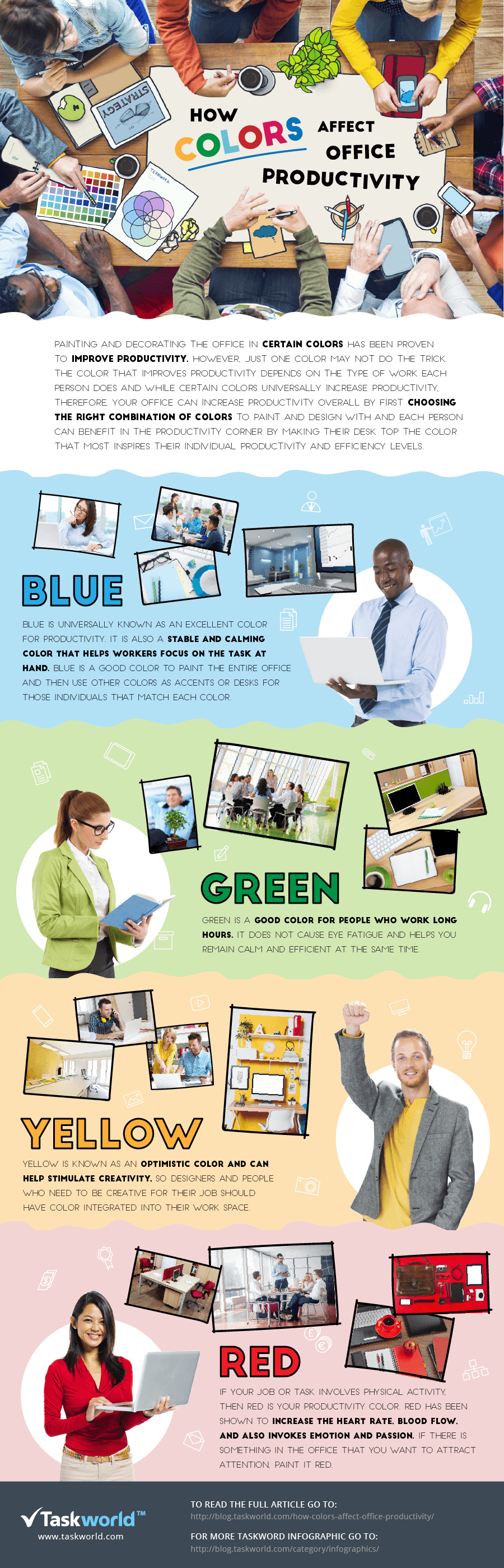 how office color affects productivity the muse