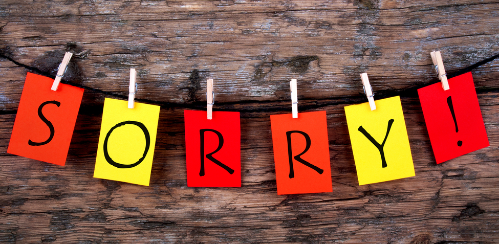how to apologize for any mistake at work and get