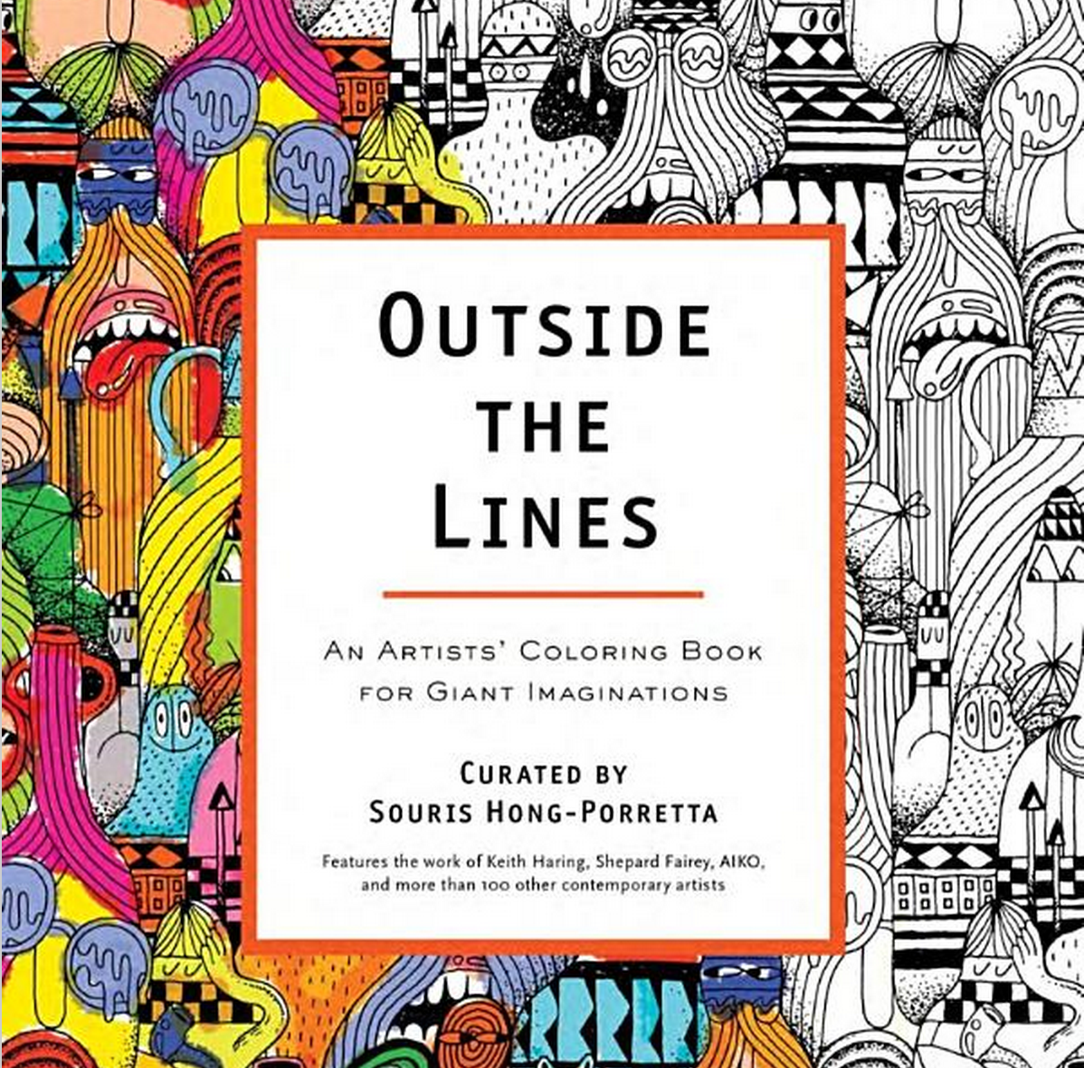 How much is the coloring book for adults - Outside The Lines Adult Coloring Book