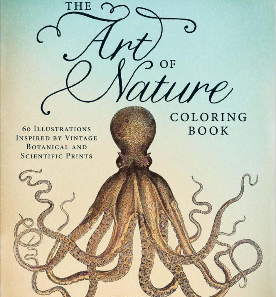 art of nature adult coloring book - Adults Coloring Books