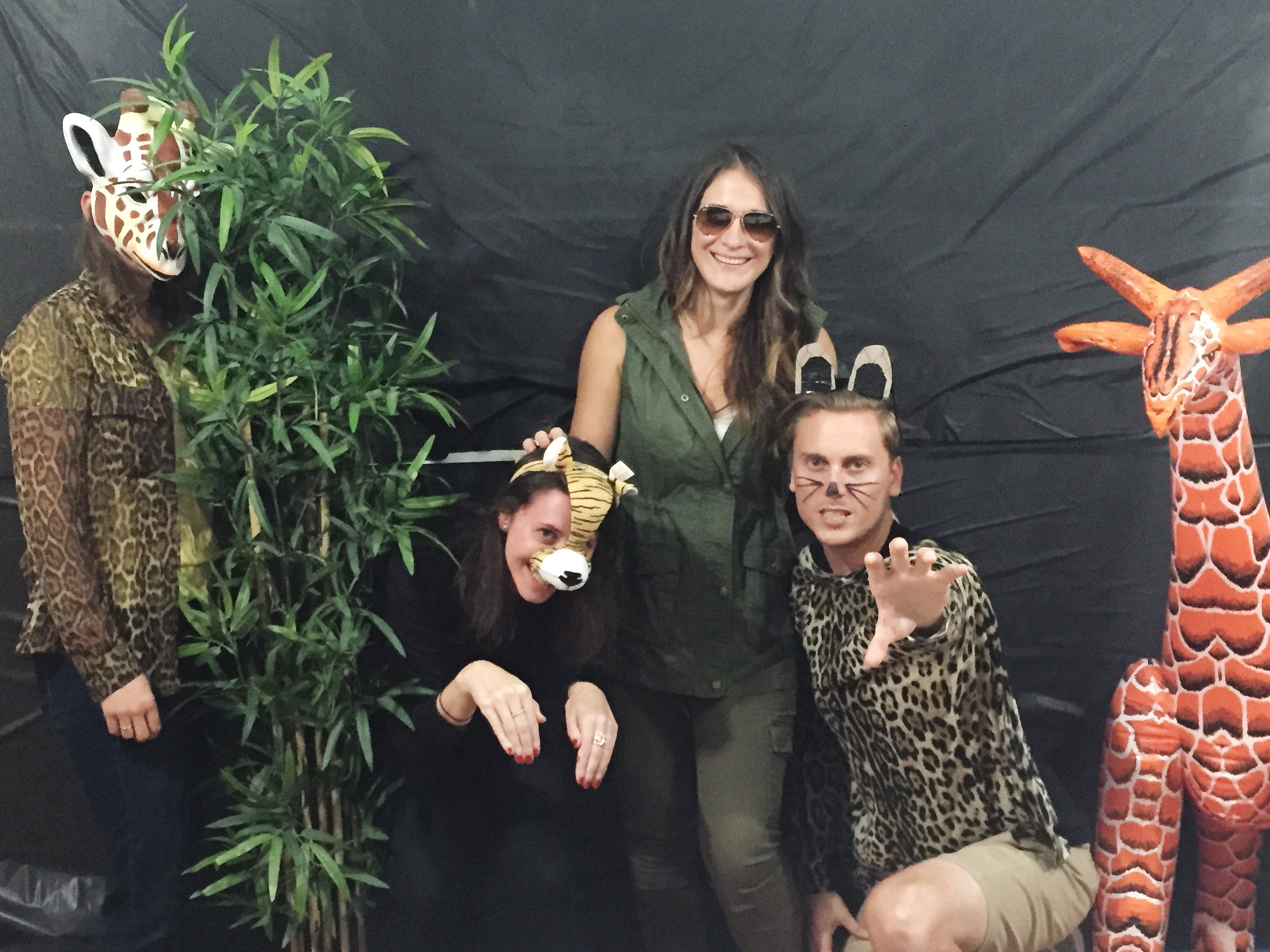14 group halloween costumes for the office you can throw together zookeeper and her animals solutioingenieria Images