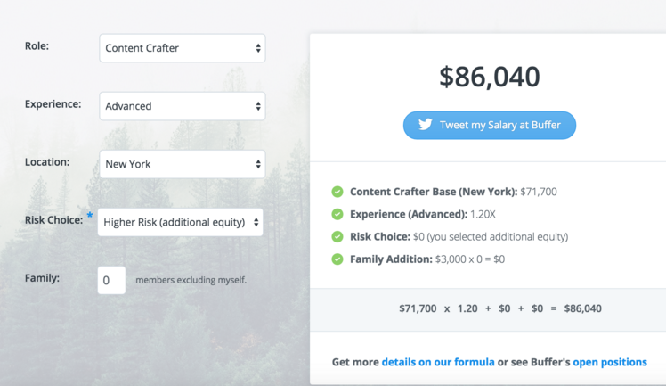 Charming For Example, If Youu0027re A Current Employee Of Buffer, You Are Eligible For  Up To $8,000 On Top Of Your Base Salary, ...  Salary Calculator