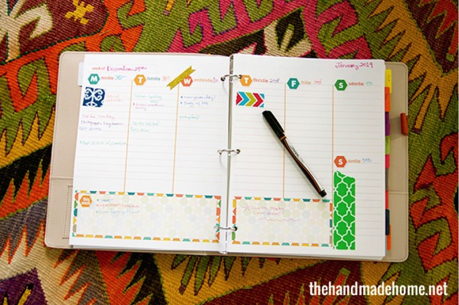 Diy Calendar Organizer : Diy planners and calendars to stay organized the muse