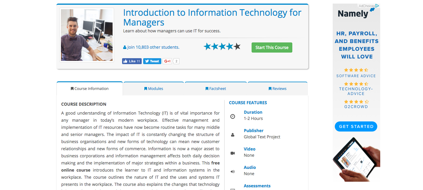 Technology Management Image: 10 Cheap Online Classes For New Managers