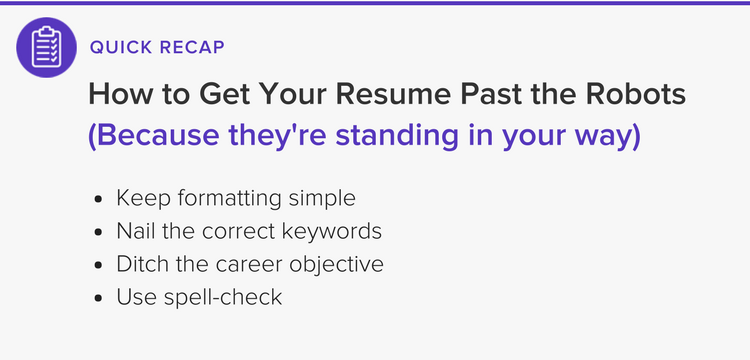 At The End Of The Day, Once Your Resume Passes The Unfailing Eye Of The ATS,  It Will Then Be Scrutinized By A Human Eye. The Good News Is That All Of ...  Resume Ats