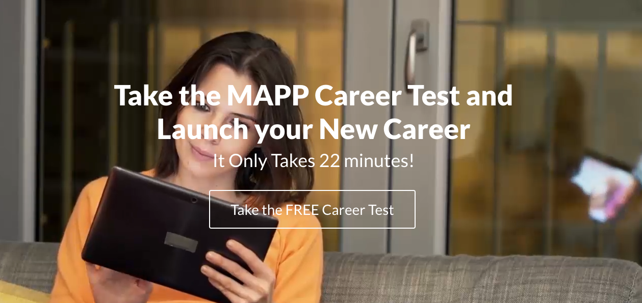 The MAPP™ Career Assessment Test  Free Career Test