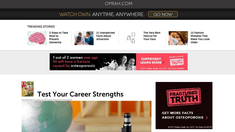 Career path quiz