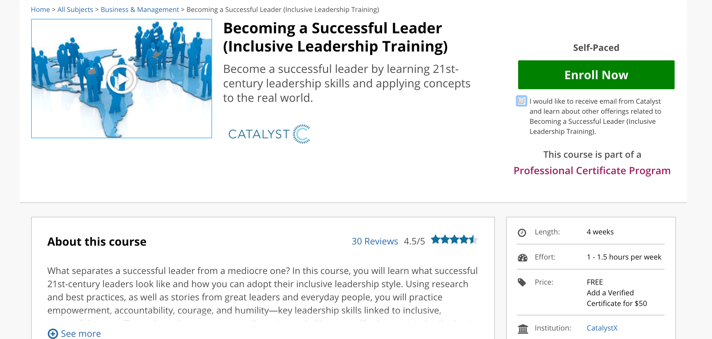 11 online classes to improve interpersonal skills the muse inclusive leadership training becoming a successful leader xflitez Images