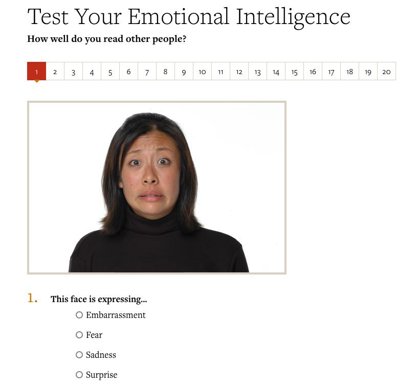 emotional intelligence appraisal test free