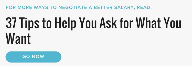 salary negotiation new job offer