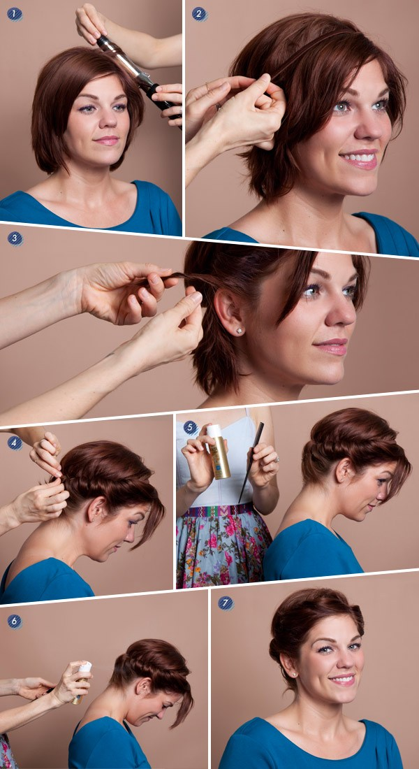 ModCloth Short Hairstyling Tutorial