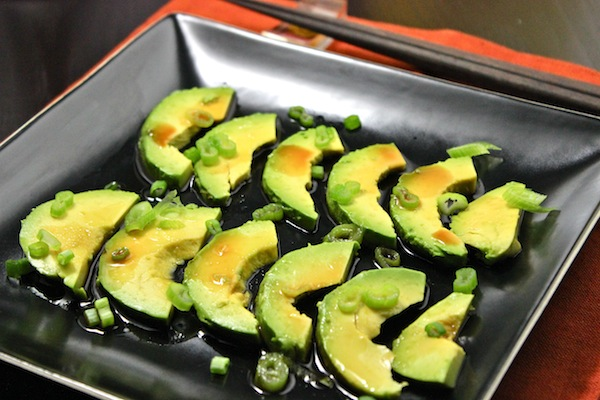 Avocado with Soy Sauce