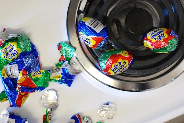 Make This Weekend Cadbury Creme Egg Rice Krispies Treats