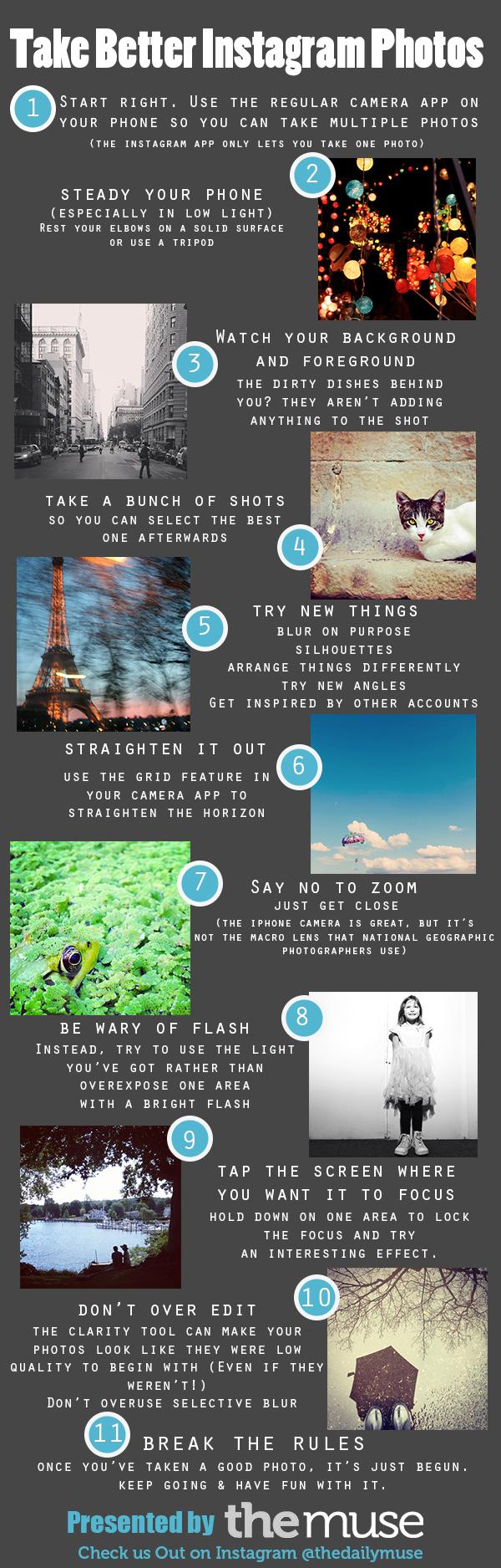 11 Secrets to Taking Better Instagram Photos