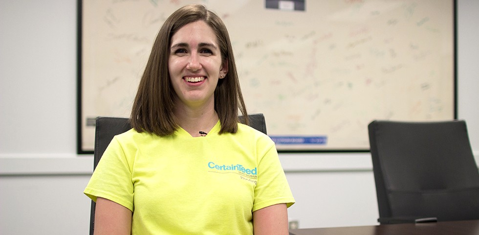 Mollie Torello, Environmental Process Engineer, Roofing - CertainTeed Careers
