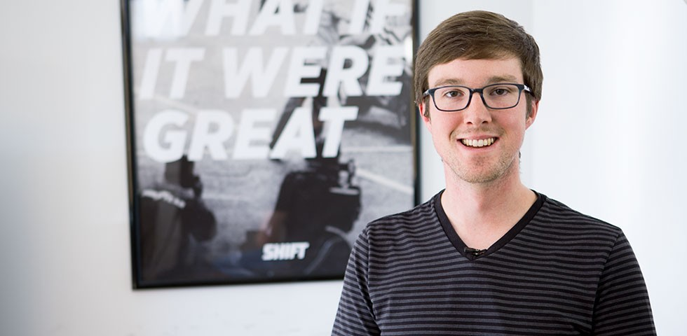 Andrew Carman, Software Engineer - Shift Careers