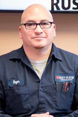 Rogelio Montes Jr., Quality Control Assistant Supervisor - Rust-Oleum Careers