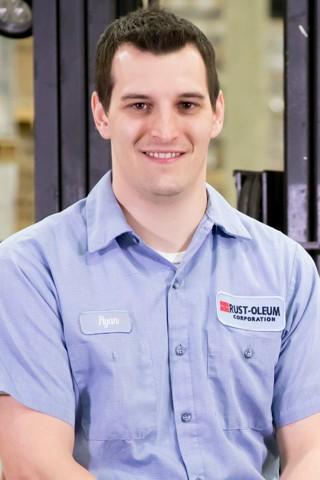 Ryan Malo, Material Handler - Rust-Oleum Careers