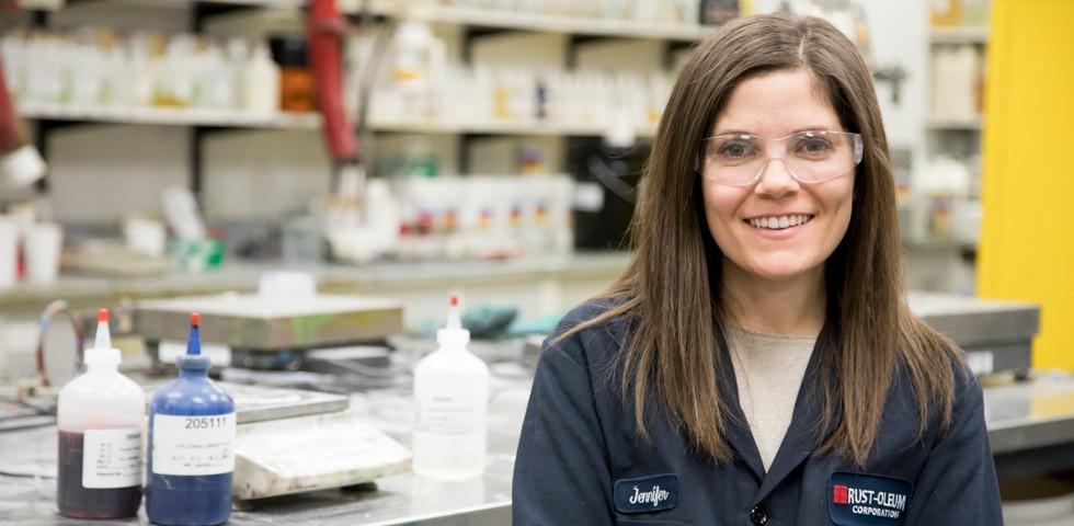 Jennifer Mazzone, Chemist II - Rust-Oleum Careers