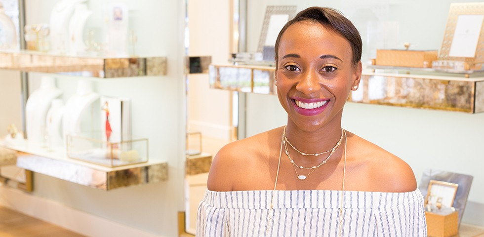 Melanie Amua-Sekyi, Area Retail Manager - Kendra Scott Careers