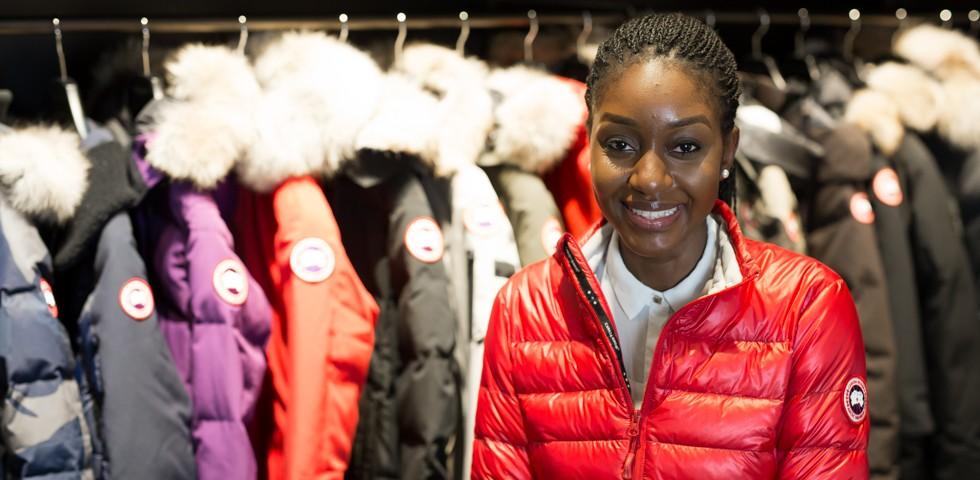 Gwashali Shivute, Design & Merchandising Project Coordinator - Canada Goose Careers
