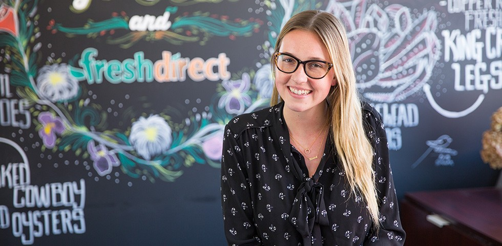 Liz King, Public Relations, Assistant Manager - FreshDirect Careers