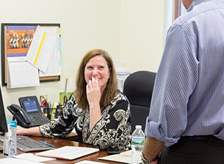 Careers - Office Life Teamwork & Education