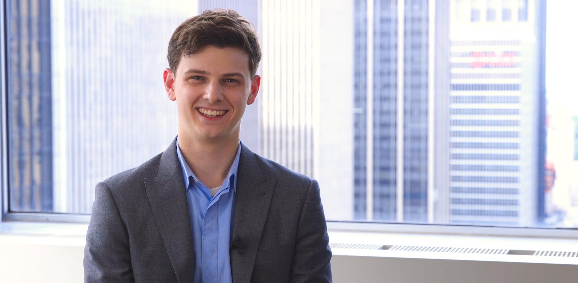 Chris Spendle, HR Development Program Associate & Chief of Staff to Mercer's Chief People Officer - Marsh & McLennan Companies Careers