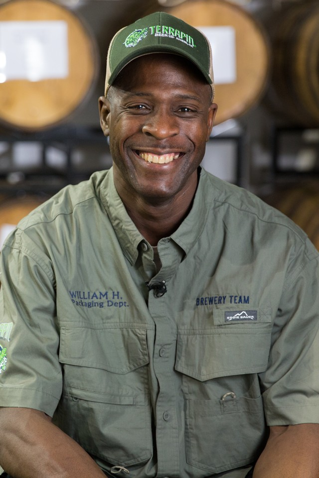 William Heard, Packaging Technician II - Terrapin Beer Careers