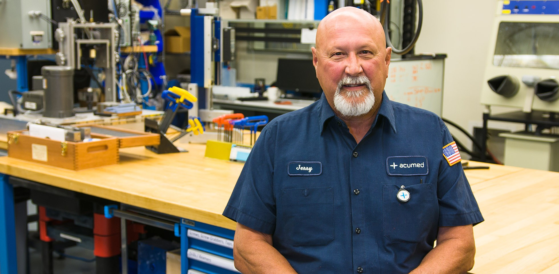 Jerry Stainbrook, Machinist 2 - Acumed Careers