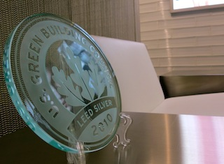 Careers - Office Life LEED Silver Award