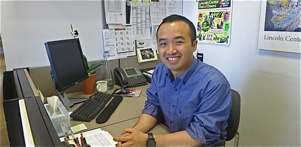 Johnny Lin, Development Operations Assistant - Lincoln Center Careers