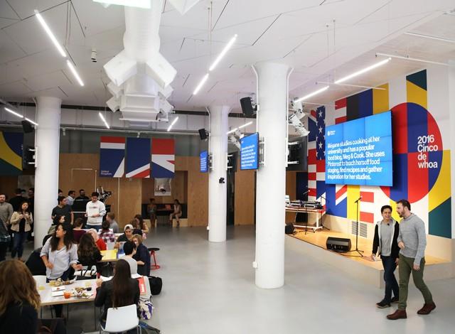 Careers - Office Life Pinterest-Style Hackathon
