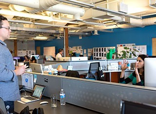 Careers - Office Life Encouraging Ownership