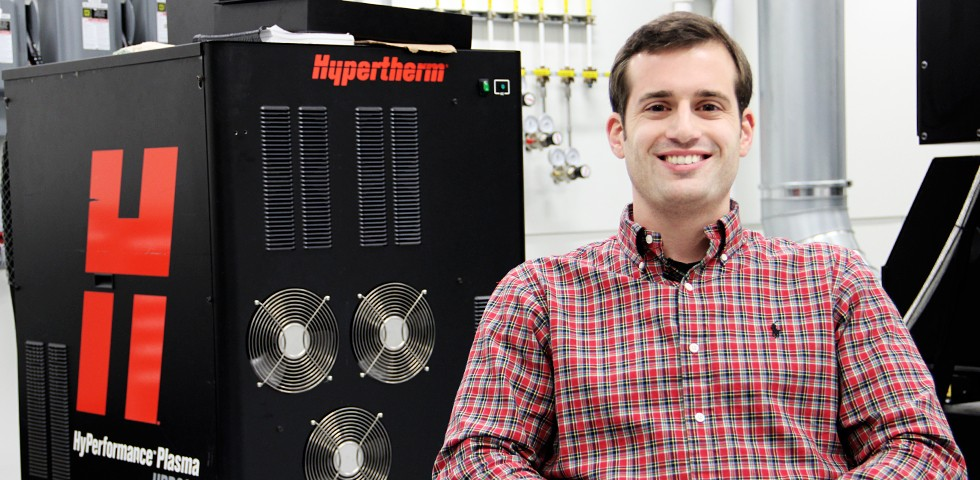 Jeff Ortakales, Design Engineer, Mechanical & Light Industrial Products - Hypertherm Careers