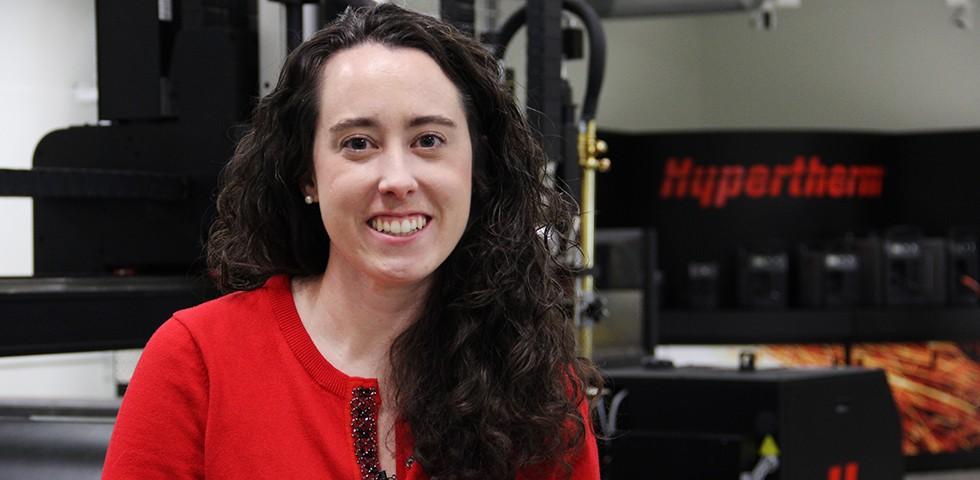 Liz Toppin, Senior Financial Analyst - Hypertherm Careers
