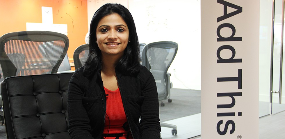 Appy Vohra , Visual Designer  - AddThis Careers