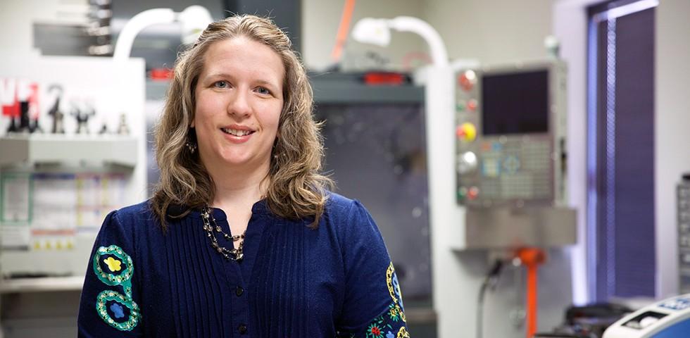 Angela Bamblett, Product Design Engineer - Double Robotics Careers