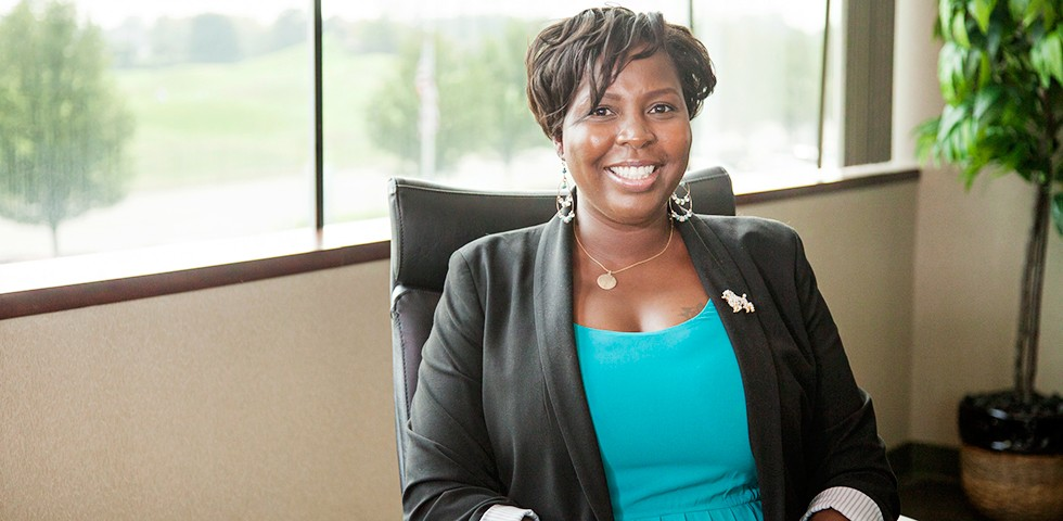 Naadia Burrows, Vice President, Client Services - Broadridge Careers
