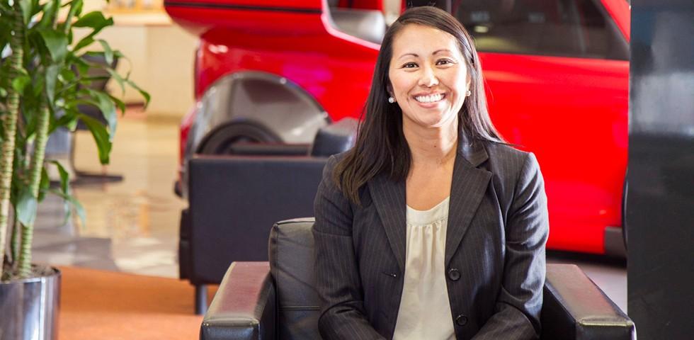 Jennifer Nam, Service Consultant  - Penske Motor Group Careers
