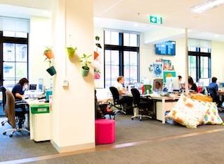 Careers - Office Perks Free-Flowing Creativity