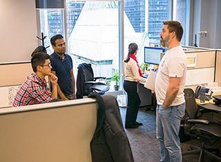 Careers - Office Perks  Open Atmosphere of Ideas