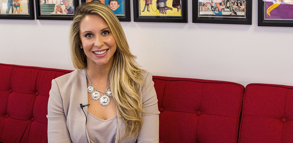 Amanda Mitchell, Business Strategy Director - 360 Live Media Careers