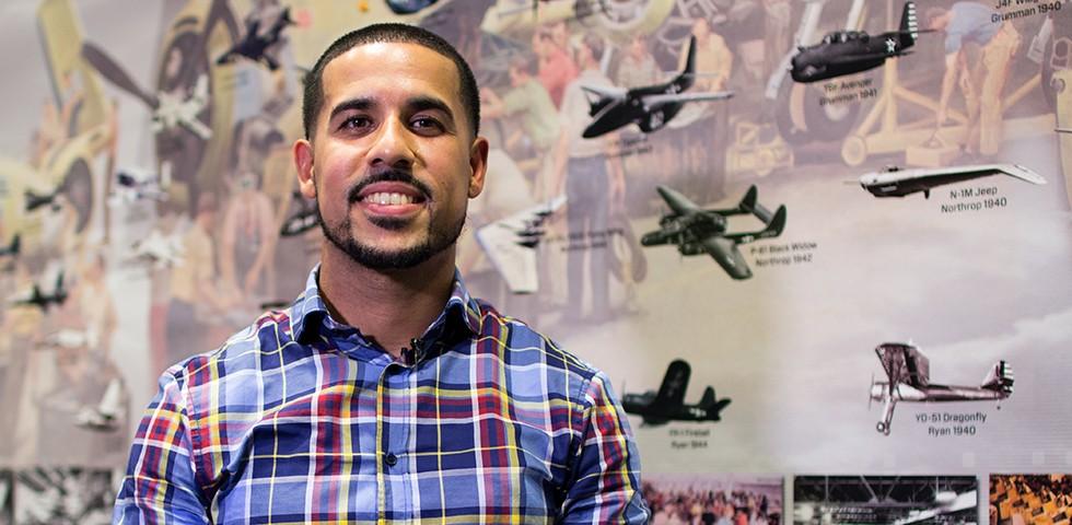Jonathan Mejias, Electronics Engineer - Northrop Grumman Careers
