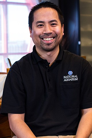 Chris Nguyen, Manager Of Life Support - National Aquarium Careers